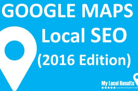 6 Local Search engine optimization Suggestions For Google Map