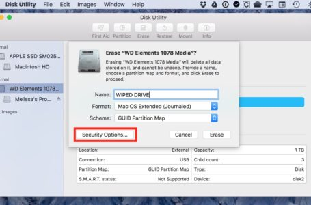 Format a Mac's Drive Using Disk Utility