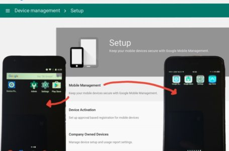 How admins can manage mobile devices with G Suite